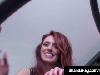Horny Dildo Banger Shanda Fay Gets Off On Glass Table w Toy