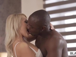 BLACK4K. Kind and friendly black guy gets access to dripping wet sissy