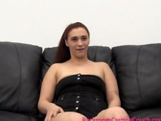 Young Mom Anal, Orgasm & Creampie on Casting Couch