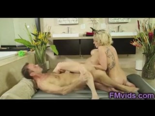 Rocco anal fuck after massage