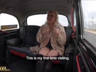 Fake Taxi English babe Gina Varney screws a Czech Cab driver