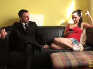 Submissive Babe Fucked Hard By Her Dom