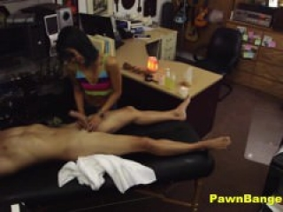 Sexy Asian Masseuse Tricked Into Fucking Her Client