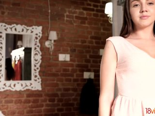 18videoz - Kelly Rouss - Cute teeny drilled from behind