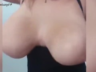 Huge natural Tits Brazilian beauty