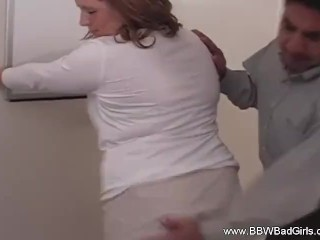 BBW Amateur Neighbor Comes Over