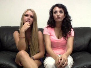 18yo Besties Robyn And Tonya Masturbate Together And Eat Each Other Out?!