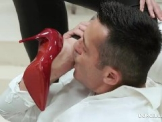DorcelClub - Henessy's Second Skin Put on Condom with mouth