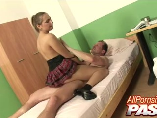 Ass Fucked Natural Big Tits And Horny Schoolgirl Rose
