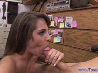 Amateur solo work and tall slender brunette and homemade ffm facial and