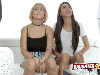 Marilyn and Victoria discuss some family issues before massive fucking