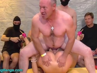 bisty german wife extreme group fucked