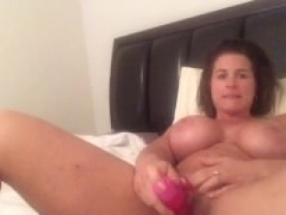 Charli has orgasm before bed