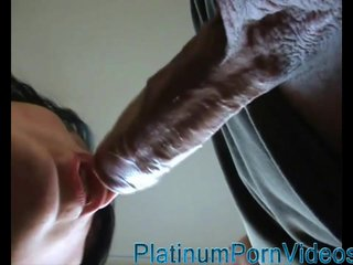 Amateur fucking and cumshot on a face
