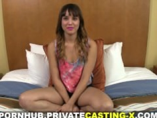 Private Casting -X - She is bisexual and loves dick