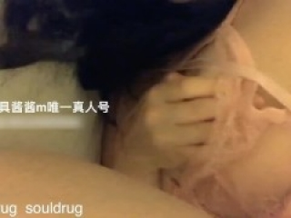 Sexy Chinese Girl in Lingerie Creampie