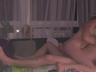 Hard anal pounding with my 22yrs old sister inlaw caught on hidden cam