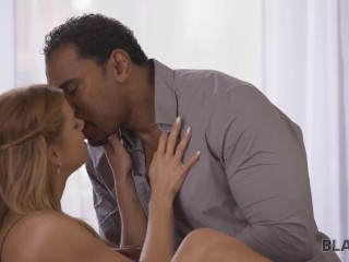 BLACK4K Czech woman Chrissy Fox with light hair is penetrated by the black man
