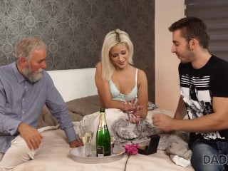 Daddy4k. Sweet Thing Uses The Moment To Have Crazy Old And Rough Sex
