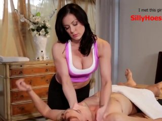 Massage Leads to Sex with Step Sister