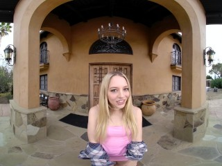Slim Babe Lily Larimar Fucking You On Your Lunch Break VR Porn