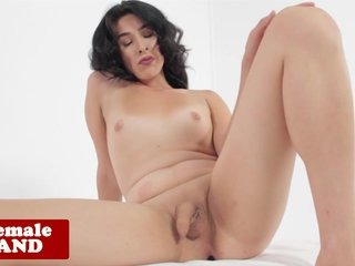 Shemale Blackula analfingers and masturbates