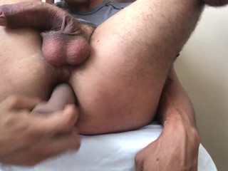 Watch me self fuck with my own dick *8 inch uncut Latino*