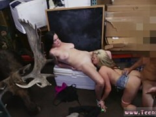 Amateur homemade riding creampie Lesbians Pawn Their Asses!