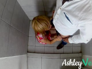 I Fucked and Squirted in the Bathroom of a Party - Ashley Ve