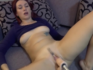 Fantastic relaxation with a fucking machine
