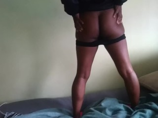 I Made My Stepsister Strip, Suck, and Fuck