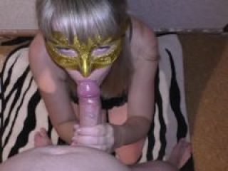 Wondeful blowjob for my husband