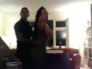 Dancing And Flashing Party Wife