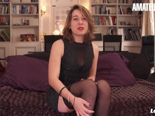 LaNovice - Sophie Ocelot Hot Ass French Amateur Slut First Time Hardcore Anal