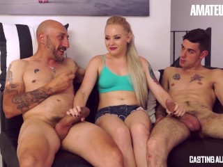 CastingAllaItaliana - Hot Teen Takes Two Huge Cocks Up Her Ass On Audition