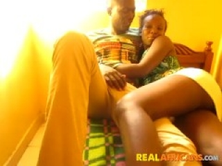 Big Booty African Girlfriend In Homemade Sex Tape