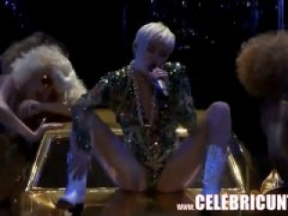 Miley Cyrus Nude and Crazy As Ever