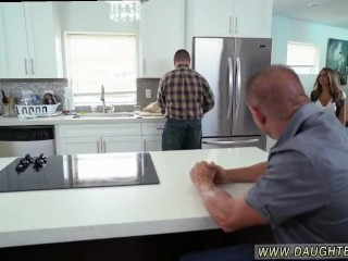 Daddy fucks crony's daughter homemade and