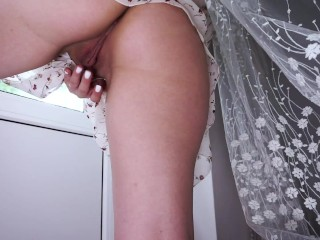 JUST LISTEN HOW THIS WET PUSSY SOUNDS FROM HOT FINGERING - BIG ASS TEEN