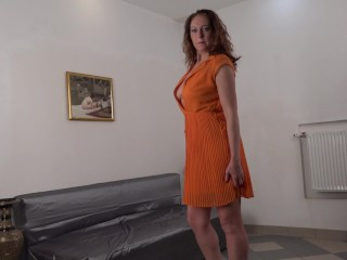 horny housewife MartaSW playing with her Vibrator