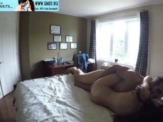Home fuck with anal dildo