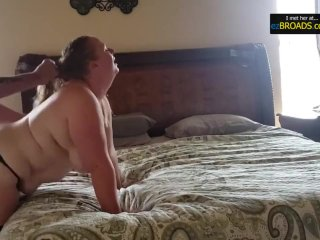 ezBROADS.com - Insecure Fat Wife Cheats with Husbands Friend