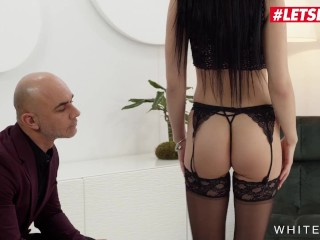 WHITEBOXXX - TWO BEST FRIENDS MARILYN SUGAR AND MIA TREJSI LOVE BEING BAD TOGETHER ON A THICK COCK