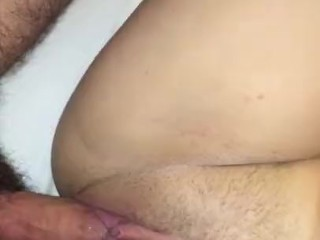Fucking my step sister to multiple orgasms close up