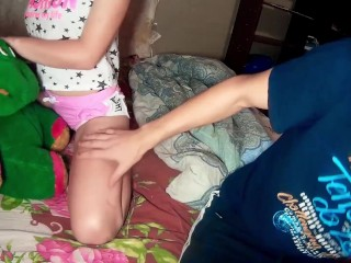 Step Brother Hardcore Fucking Step Sister - Intensive Orgasm