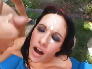 FACES OF CUM : Taylor Rain