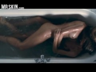 Celebrities taking a bath and getting real dirty