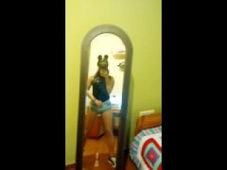Playing with my mirror