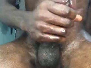 Vocal Black Teen Moan With Huge BBC