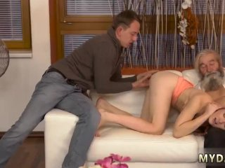 Old couple fucking young swinger Unexpected